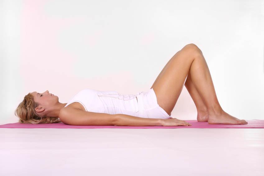 Posture yoga savasana
