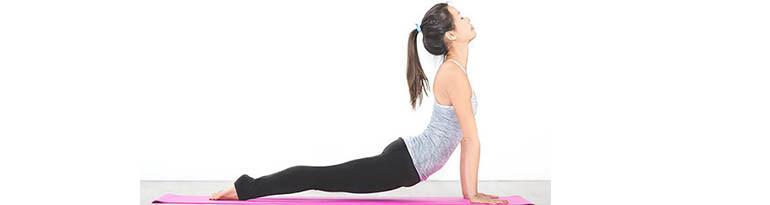 Postures yoga d'étirement