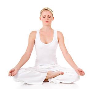Posture yoga Om Méditation