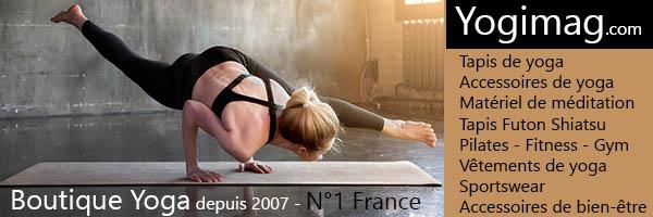 Boutique de yoga Yogimag N°1 France