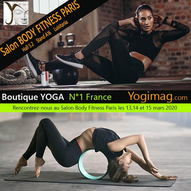 Salon Body Fitness Paris Boutique Yoga Yogimag