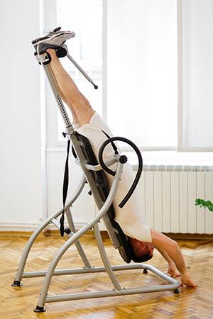Table d'inversion et d'étirement physique