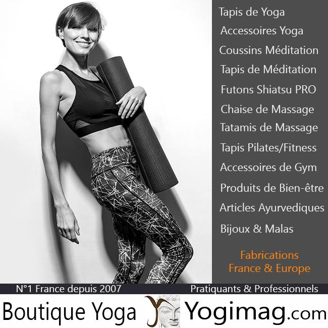Restez positif en faisant du yoga ou de la méditation avec la boutique de yoga Yogimag