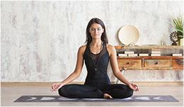Posture de yoga pour le sommeil