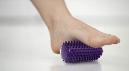 Rouleau accessoire pour soulager les jambes lourdes