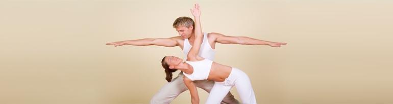 Yoga et amour pour être à deux