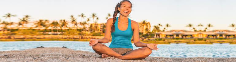 Yoga en vacances pour se relaxer en toute sérénité