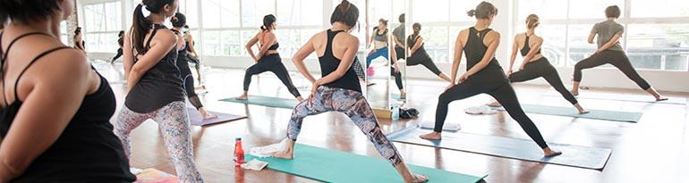 Inscription aux cours de yoga