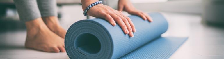 Questions les plus posées sur les tapis de yoga